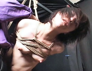Shibari suspension0  capture japanese slave girl is suspended shibari style. Capture Japanese Slave girl is suspended Shibari style